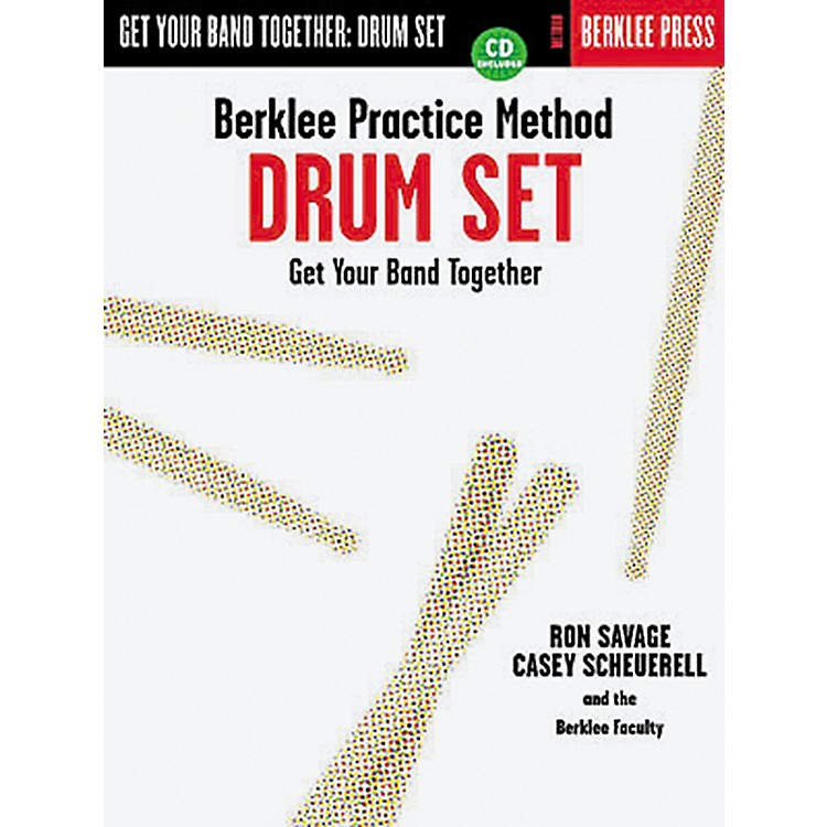 Hal Leonard Berklee Practice Method: Drum Set Book/CD