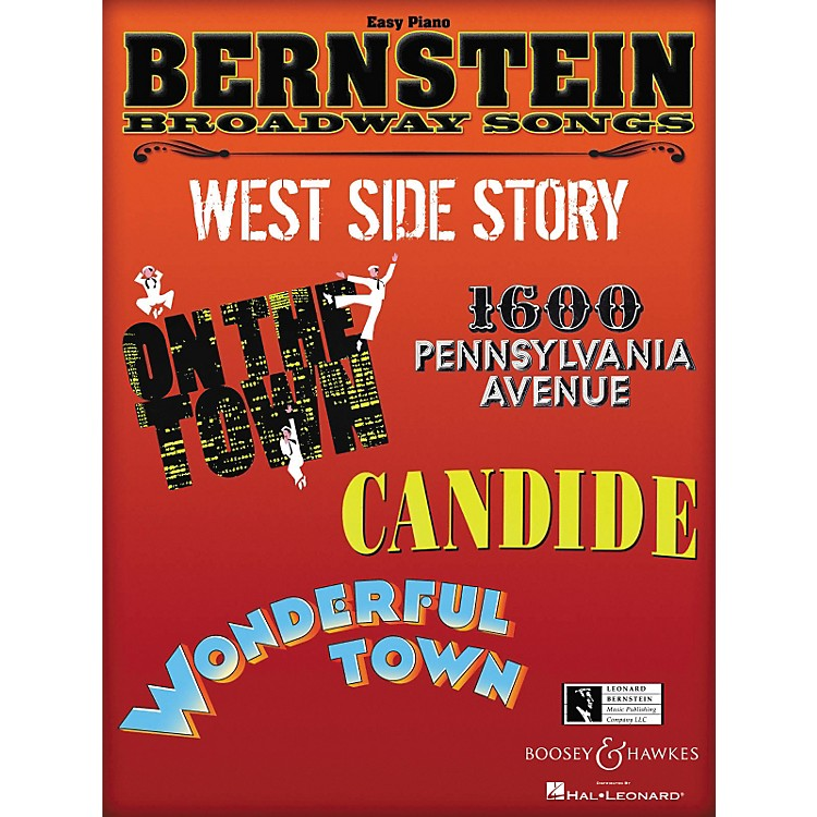 Boosey and HawkesBernstein Broadway Songs - Easy Piano