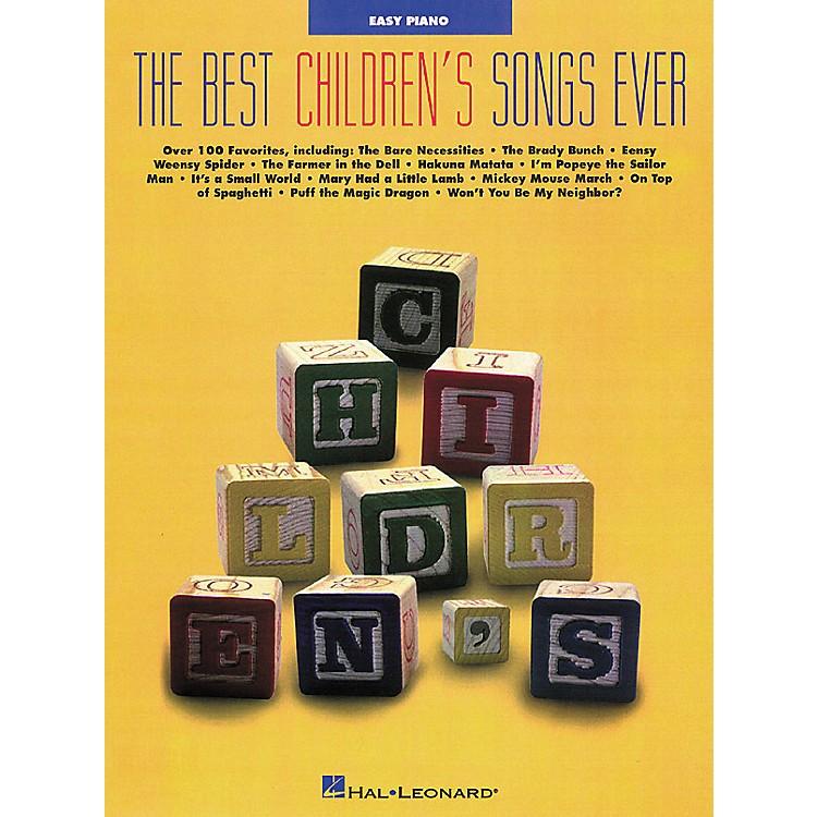 Hal LeonardBest Childrens Songs Ever Easy Piano Songbook