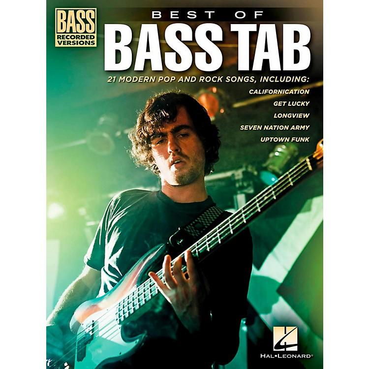 Hal LeonardBest Of Bass Tab