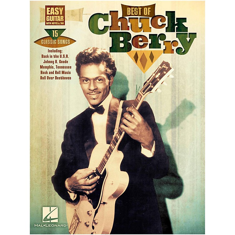 Hal Leonard Best Of Chuck Berry Easy Guitar With Tab