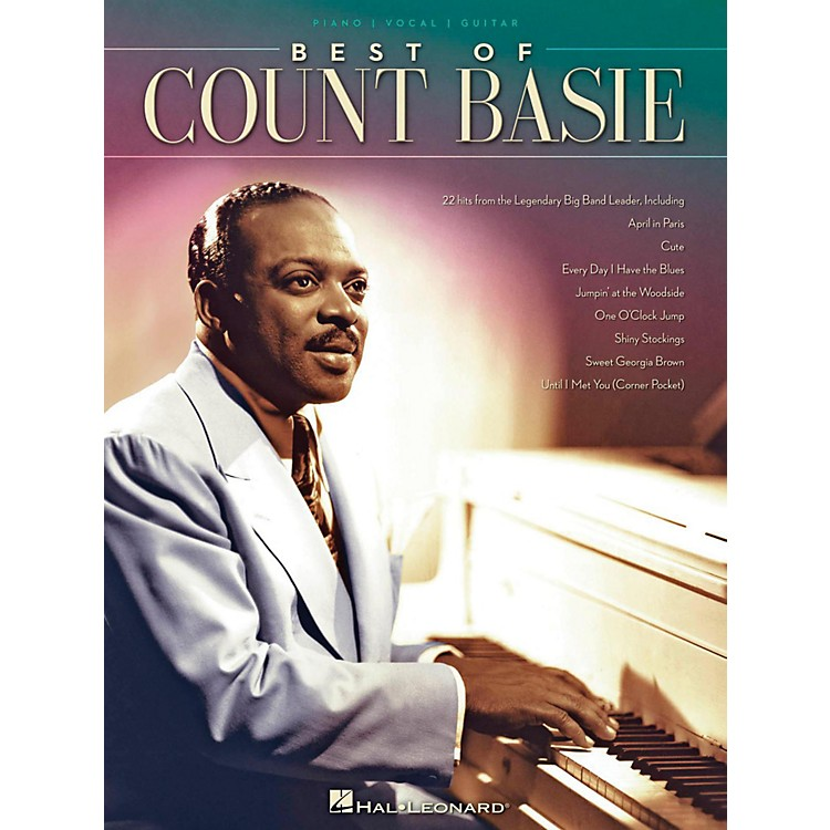 Hal Leonard Best Of Count Basie for Piano/Vocal/Guitar