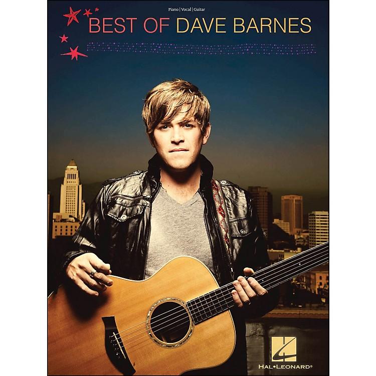 Hal LeonardBest Of Dave Barnes PVG