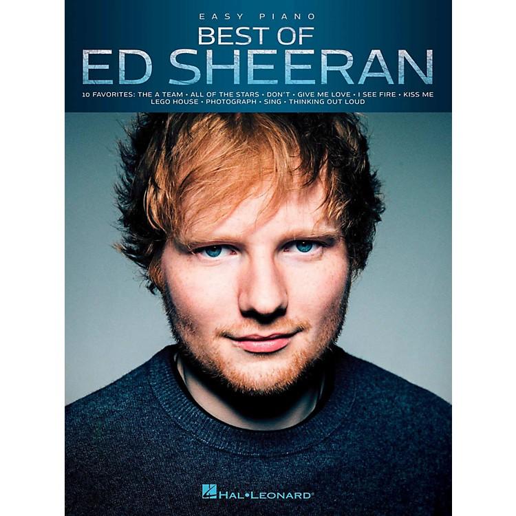 Hal LeonardBest Of Ed Sheeran For Easy Piano