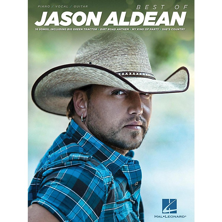 Hal Leonard Best Of Jason Aldean Piano/Vocal/Guitar (PVG)
