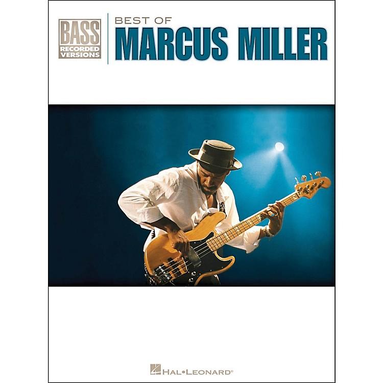 Hal LeonardBest Of Marcus Miller Bass Tab Songbook