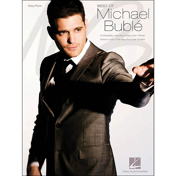 Hal Leonard Best Of Michael Buble Easy Piano