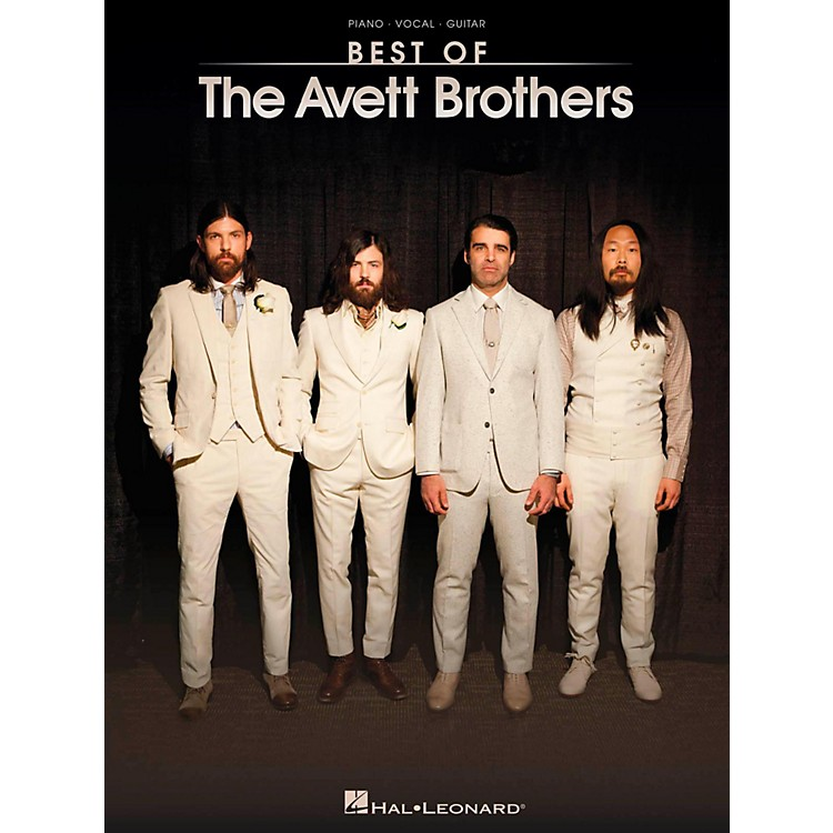 Hal Leonard Best Of The Avett Brothers for Piano/Vocal/Guitar