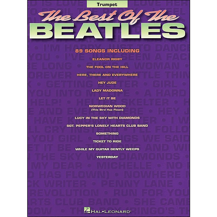 Hal LeonardBest Of The Beatles for Trumpet