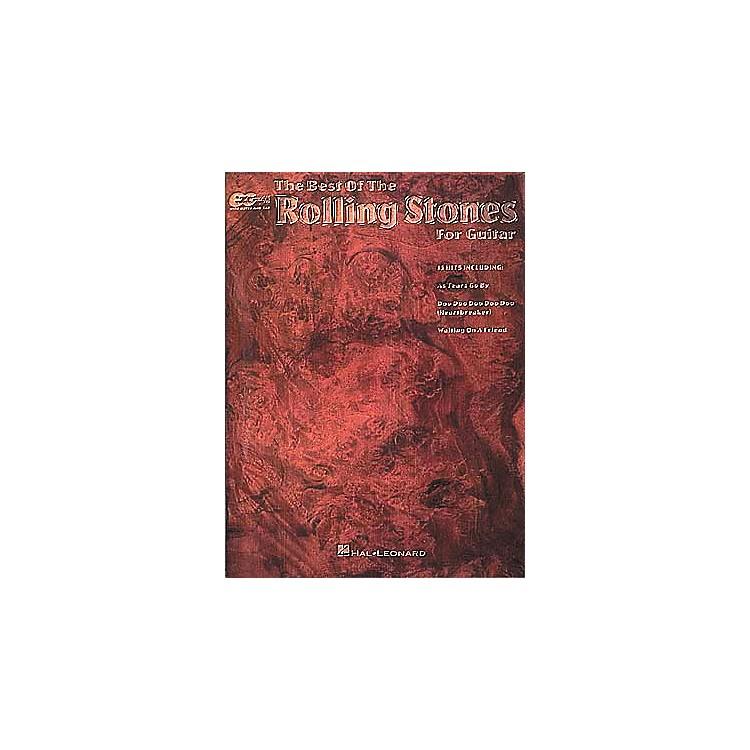 Hal LeonardBest Of The Rolling Stones Easy Guitar Tab Book