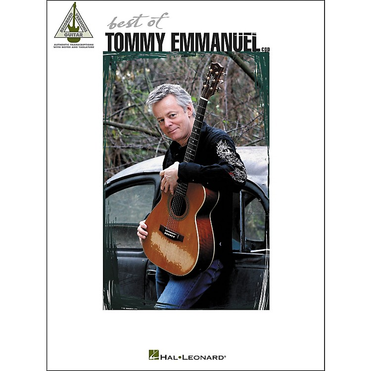 Hal Leonard Best Of Tommy Emmanuel Tab Book