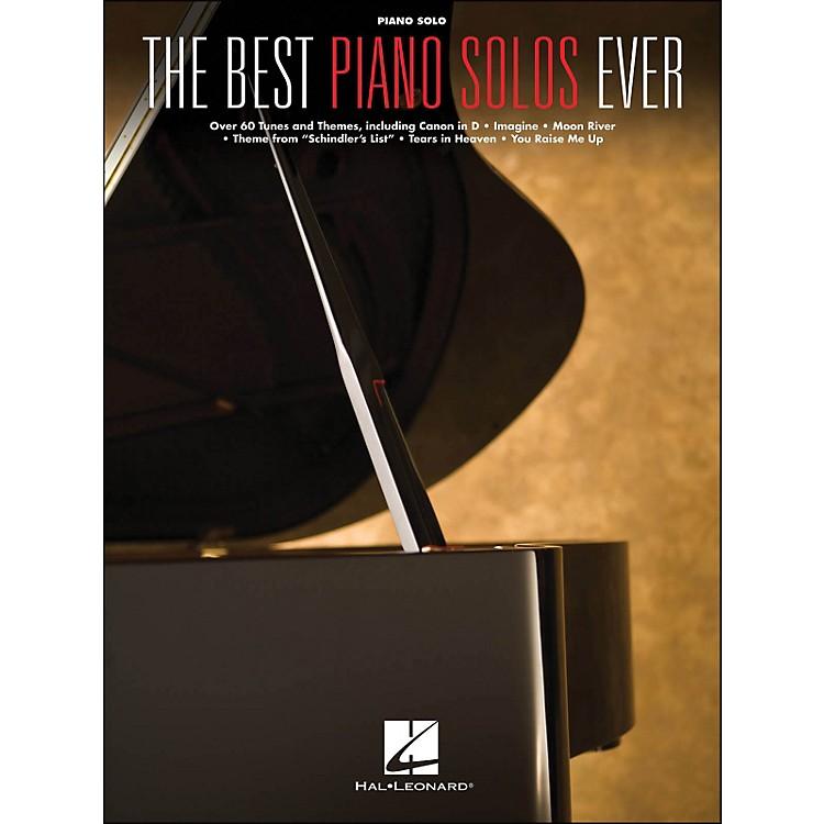 Hal LeonardBest Piano Solos Ever