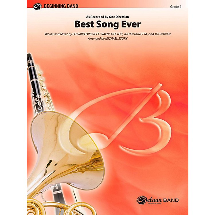 Alfred Best Song Ever Concert Band Level 1 Set
