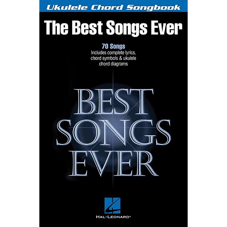 Hal LeonardBest Songs Ever - Ukulele Chord Songbook