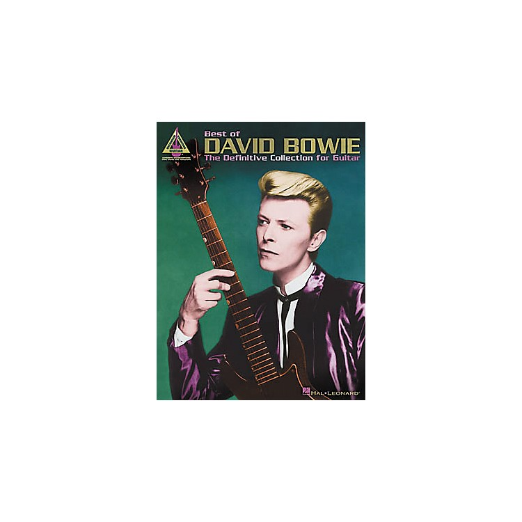 Hal Leonard Best of David Bowie Guitar Tab Book