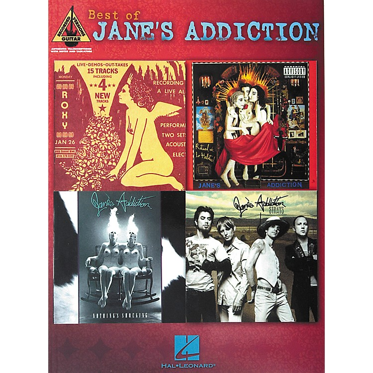 Hal Leonard Best of Jane's Addiction Guitar Tab Songbook