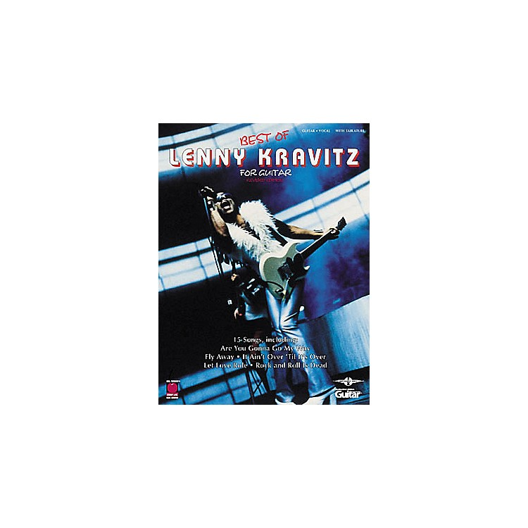 Cherry Lane Best of Lenny Kravitz Guitar Tab Book