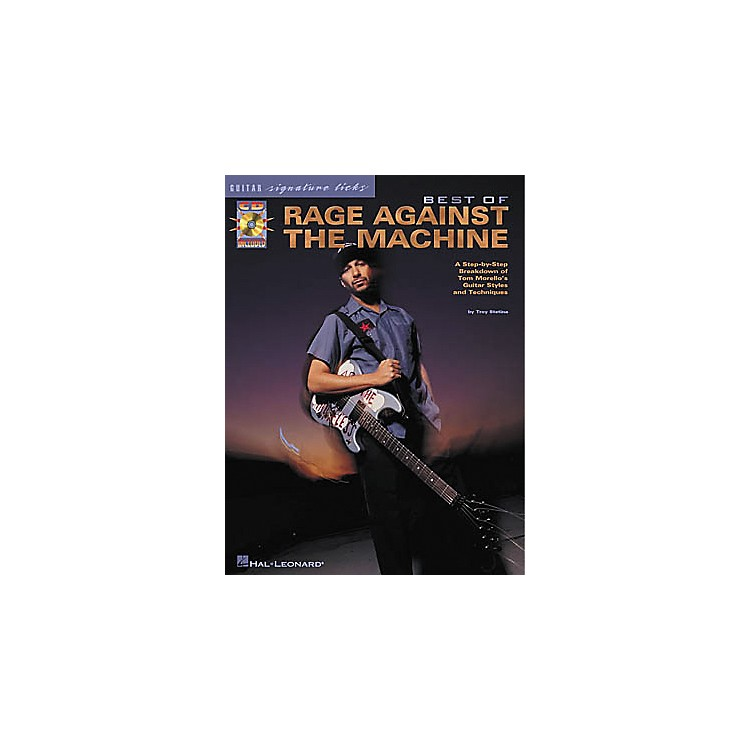 Hal LeonardBest of Rage Against The Machine Signature Licks Book with CD