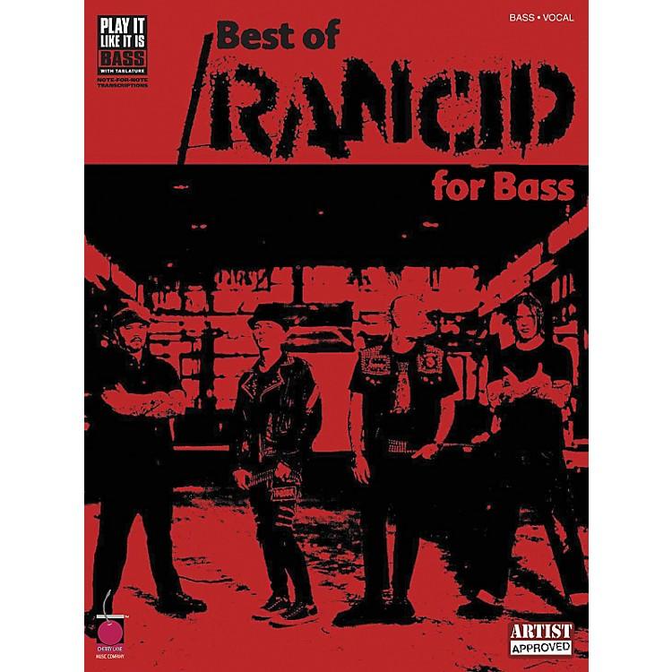 Cherry LaneBest of Rancid Bass Guitar Tab Songbook