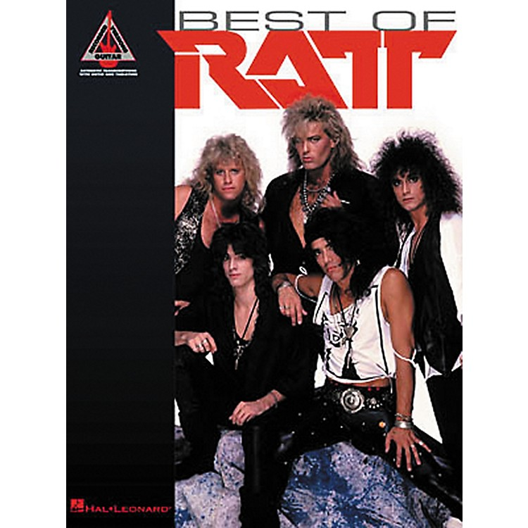 Hal LeonardBest of Ratt Guitar Tab Songbook
