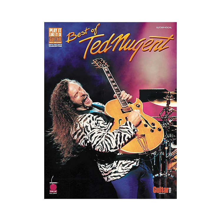 Cherry LaneBest of Ted Nugent Guitar Tab Songbook