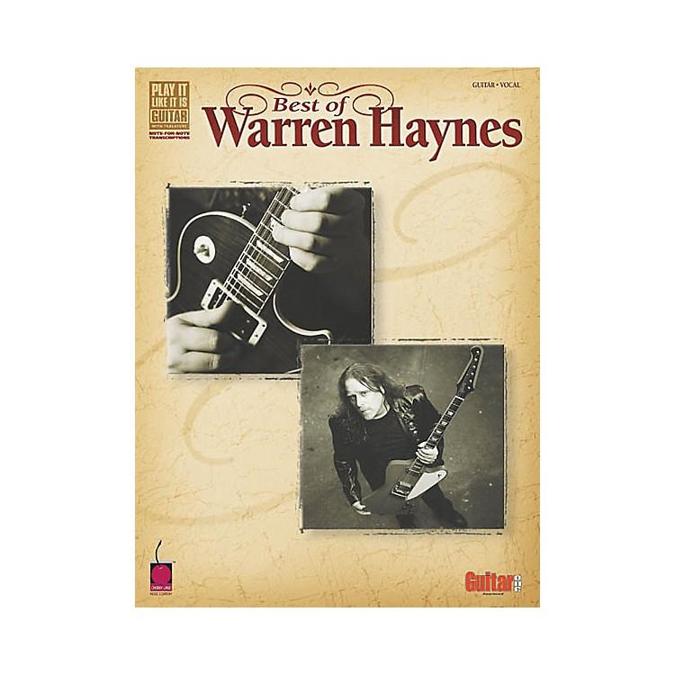 Cherry LaneBest of Warren Haynes Guitar Tab Songbook