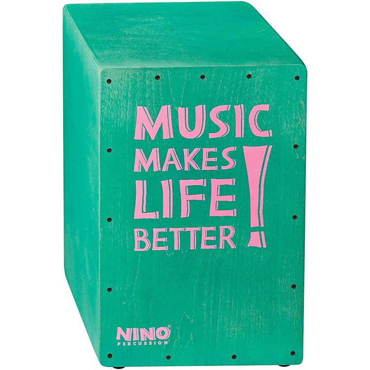 Nino Better Life Series Cajon, Grey Turquoise