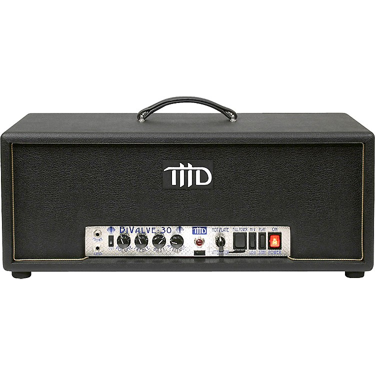 THD BiValve-30 Box Head 30W Tube Guitar Amp Black