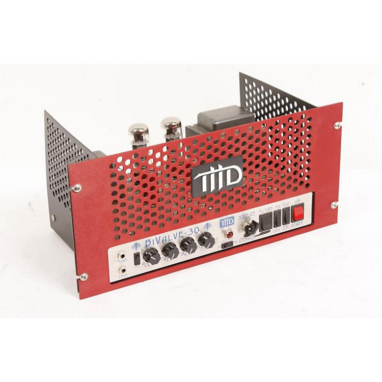 THD BiValve Rack-mounted Guitar Amp Head Red 886830320149