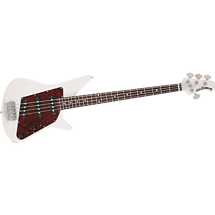 Music Man Big Al Bass White Pearl Rosewood Fretboard