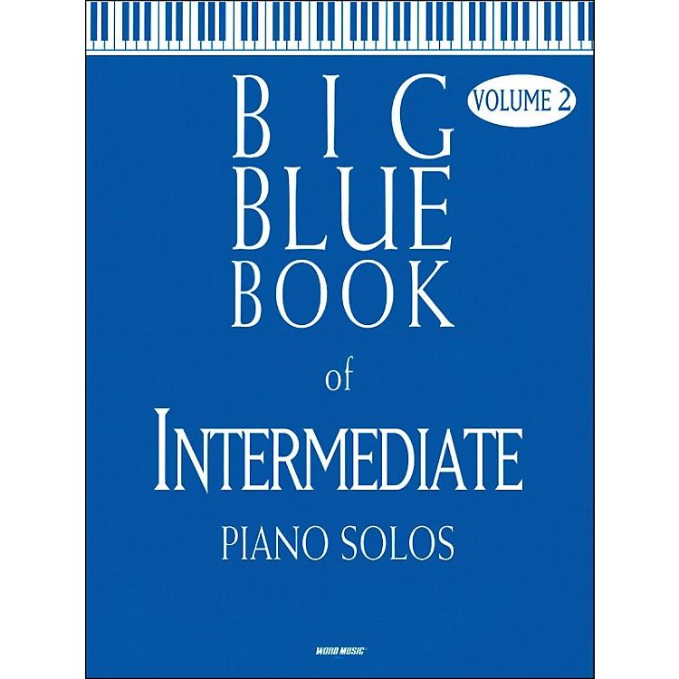 Word MusicBig Blue Book Of Intermediate Piano Solos V2