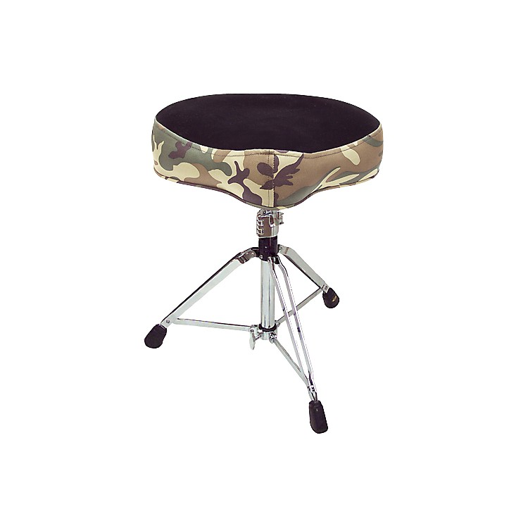 Pork Pie Big Boy Camouflage Drum Throne  Black/Camo