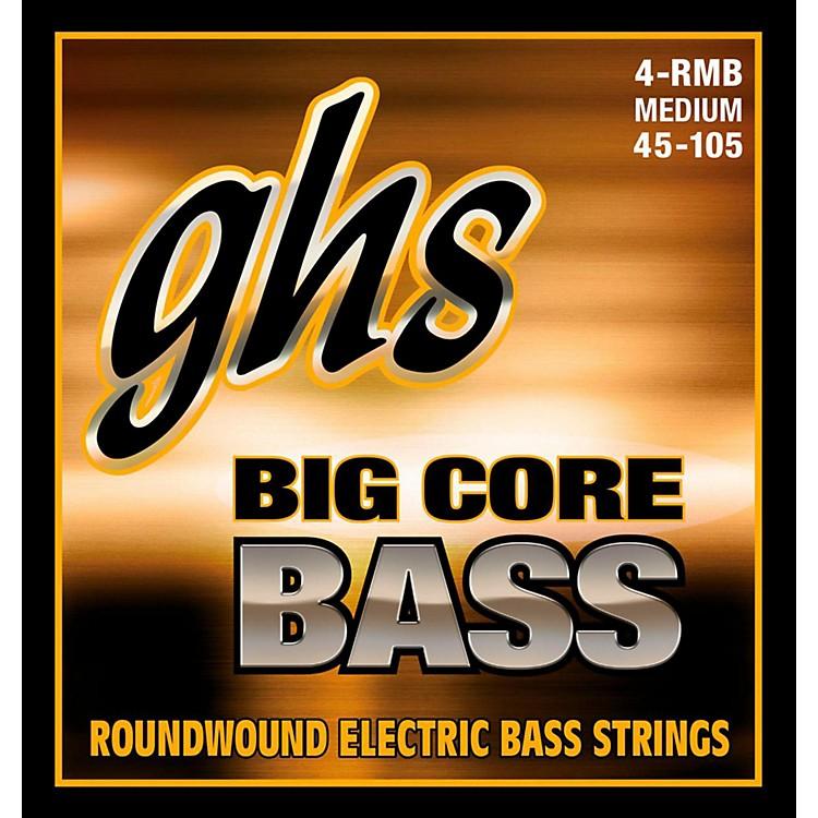 GHSBig Core Drop Tuning Bass Guitar Strings (45-105)