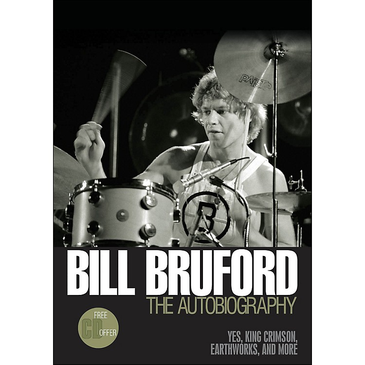 Backbeat Books Bill Bruford - The Autobiography