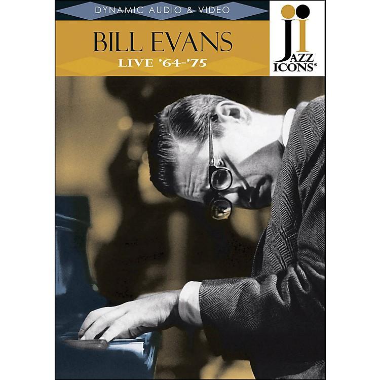 Hal LeonardBill Evans Live In '64 & '75 Jazz Icons DVD