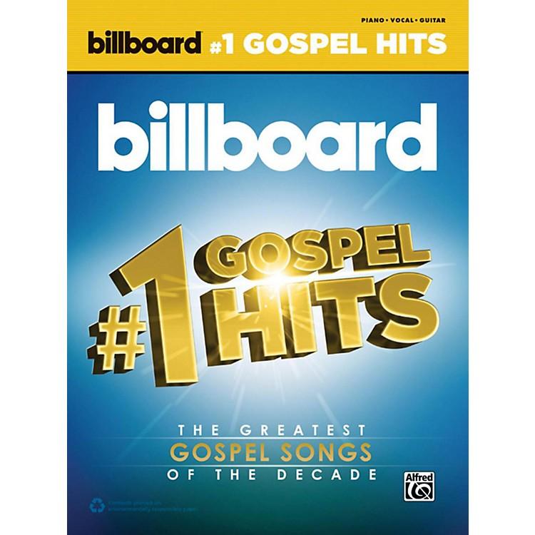 AlfredBillboard's #1 Gospel Hits Piano/Vocal/Guitar Songbook