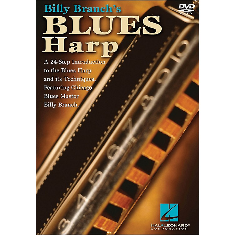 Hal LeonardBilly Branch's Blues Harp (DVD)