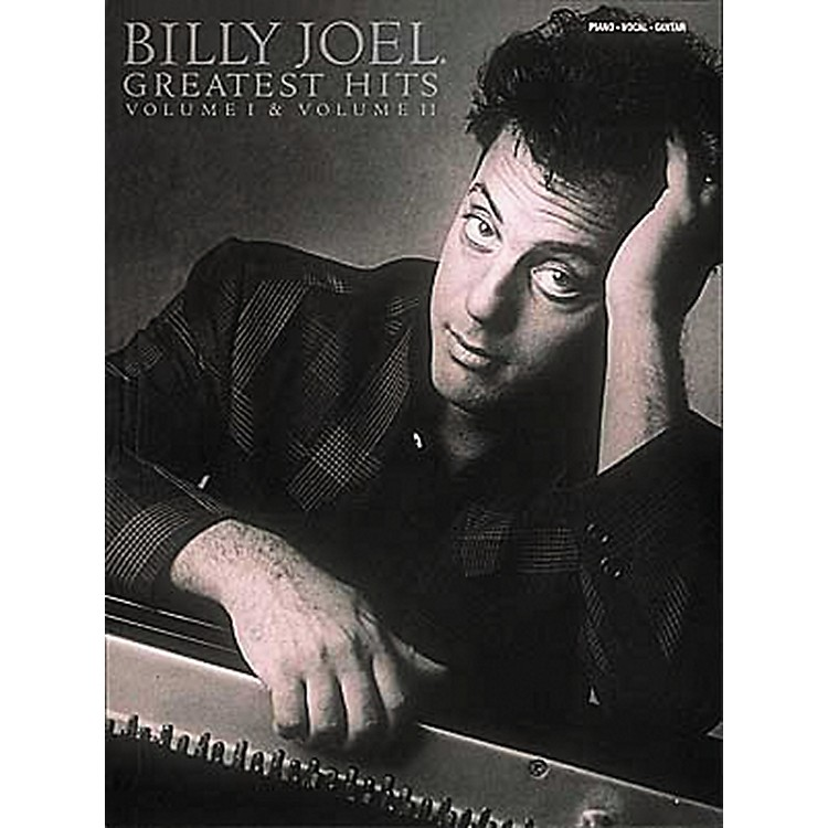 Hal LeonardBilly Joel  Greatest Hits Volume 1 & 2 Piano, Vocal, Guitar Songbook