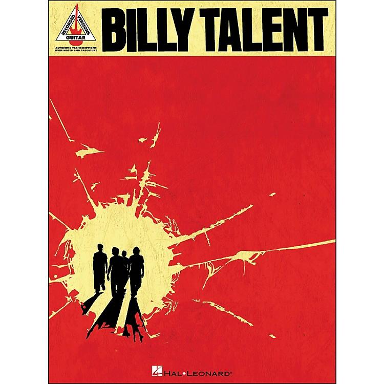 Hal LeonardBilly Talent Tab Book