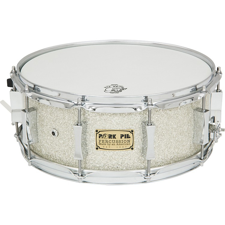 Pork Pie Birch Snare Drum silver glass 14x6