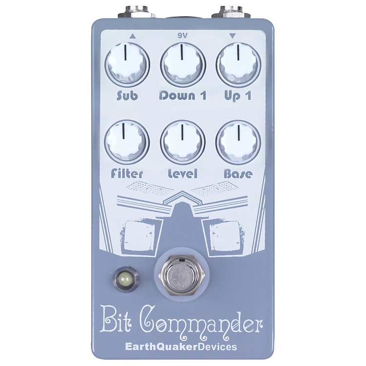 EarthQuaker Devices Bit Commander Octave Synth Guitar Effects Pedal