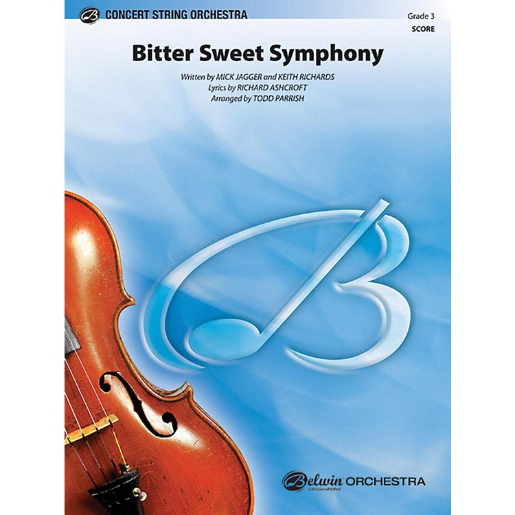 AlfredBitter Sweet Symphony String Orchestra Grade 3