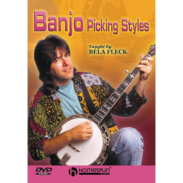 Homespun Bla Fleck Teaches Banjo Picking Styles (DVD)