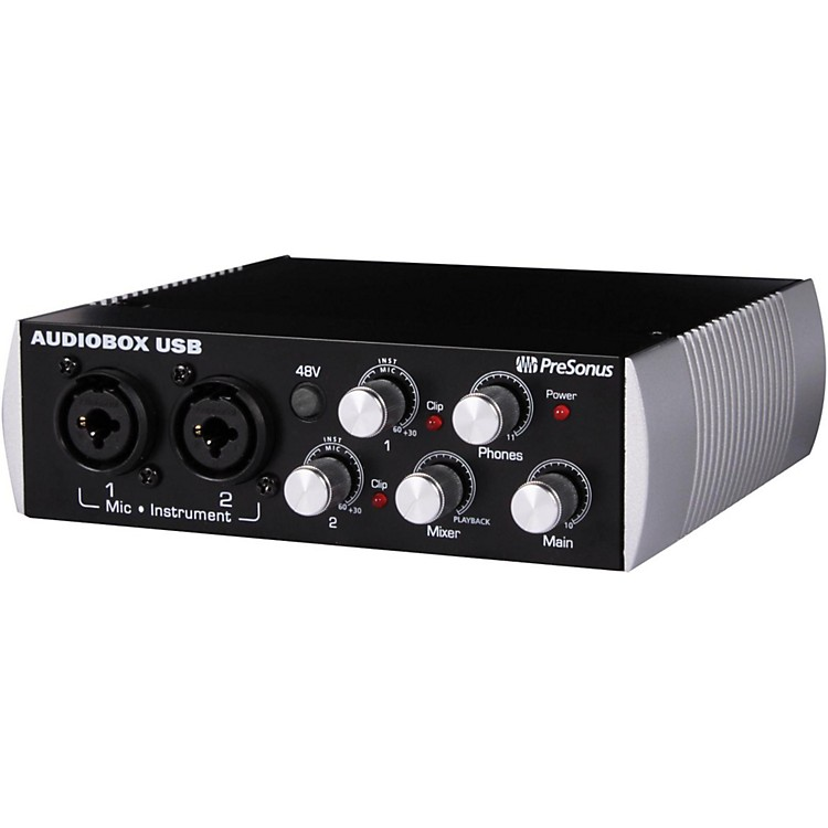 PreSonusBlack Audiobox 2x2 USB Recording System