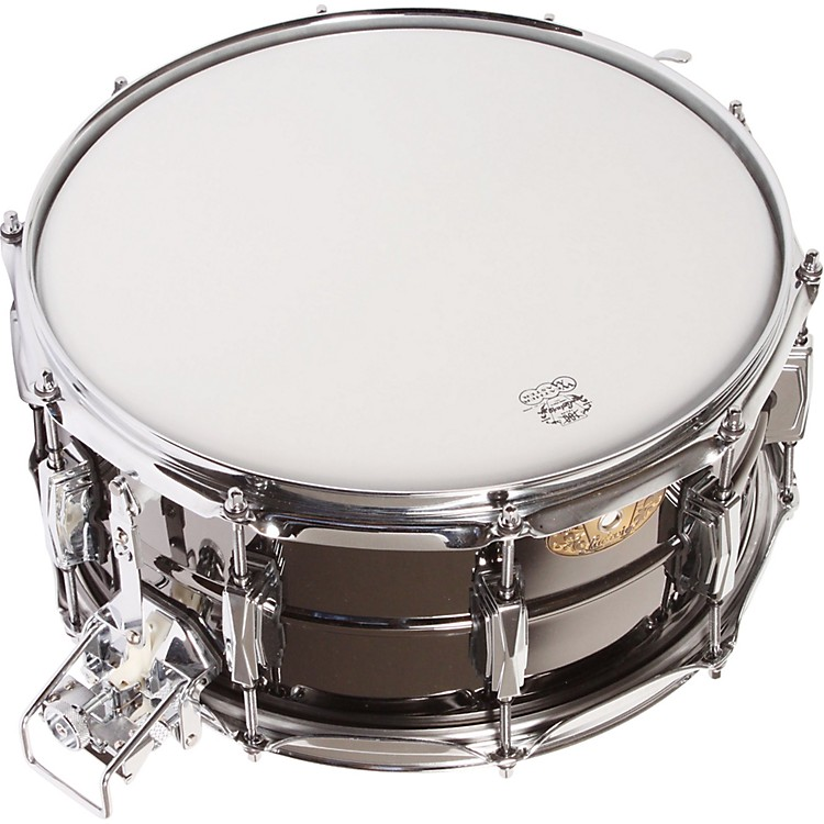 Ludwig Black Beauty Snare with Super-Sensitive Snares  14 x 6.5 in.