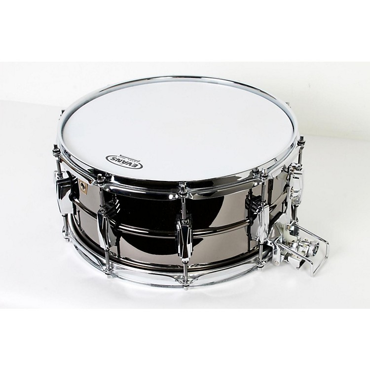 Ludwig Black Beauty Snare with Super-Sensitive Snares 14 x 6.5 in 888365744698