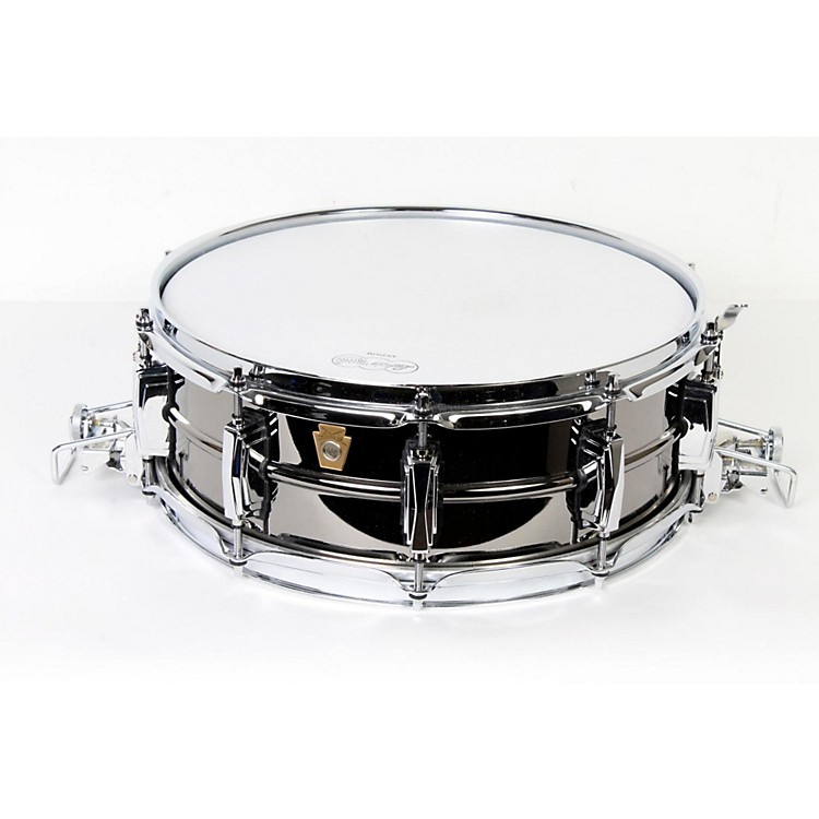 Ludwig Black Beauty Snare with Super-Sensitive Snares 6.5X14 Inches 888365744704