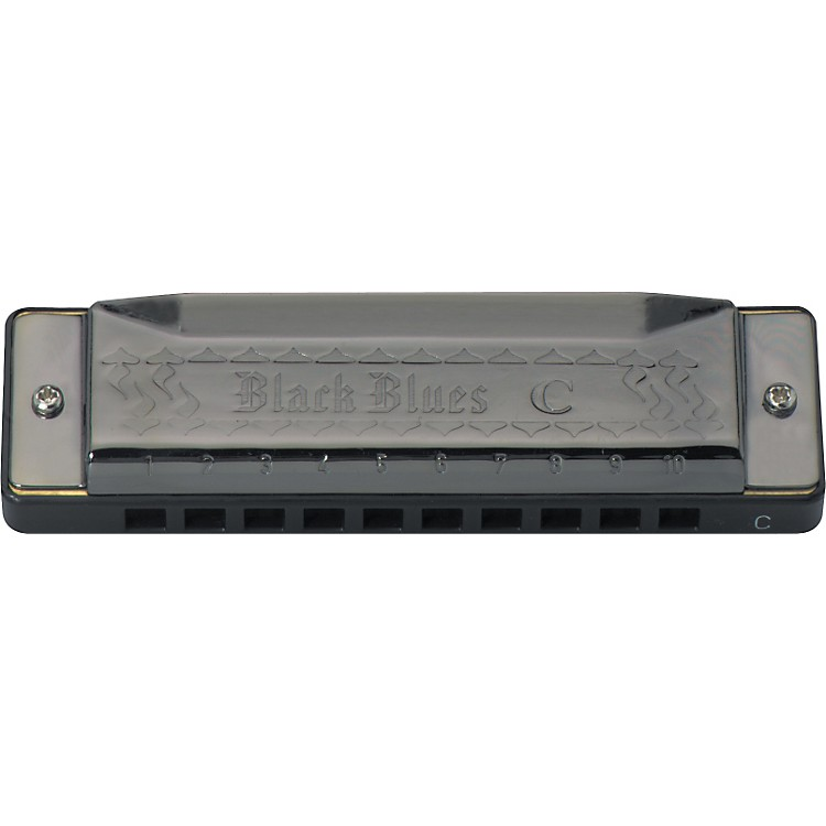 Hering Black Blues Harmonica
