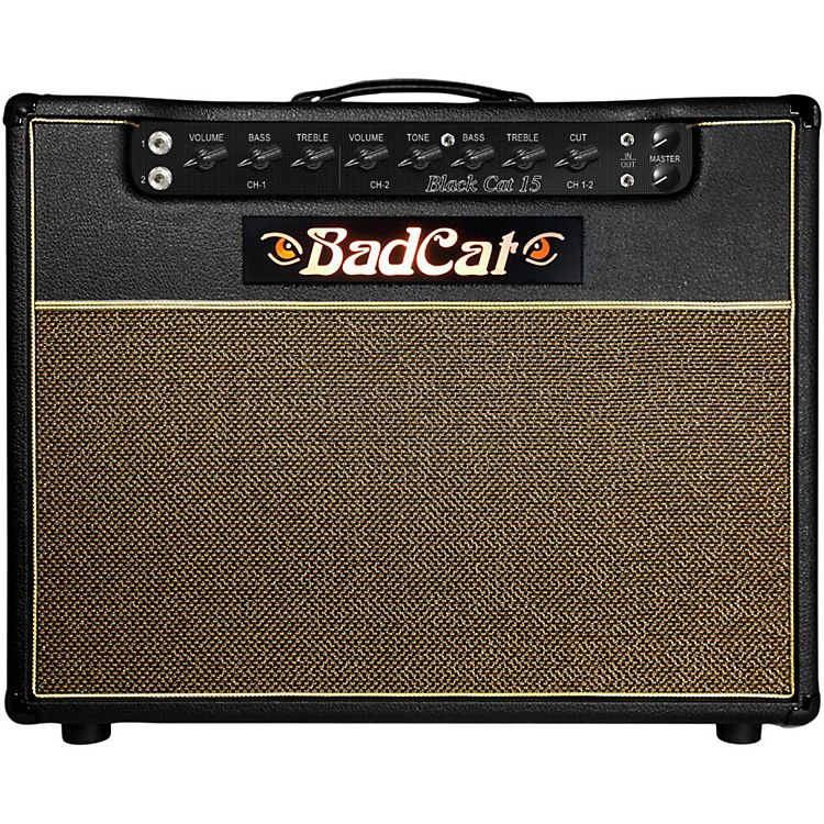 Bad Cat Black Cat 15 15W 1x12 Tube Guitar Combo Amp Black