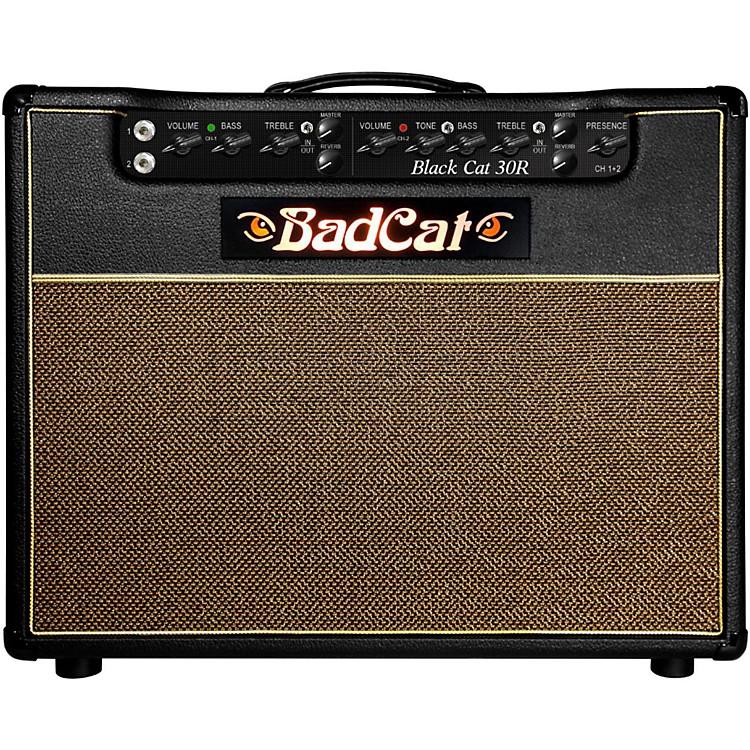 Bad CatBlack Cat R 30W 1x12 Tube Guitar Combo AmpBlack
